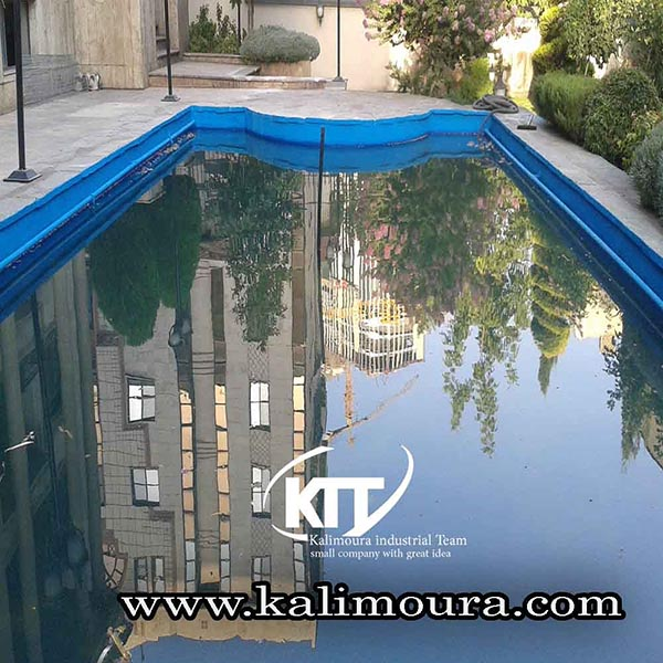Waterproofing seals in Tehran governorate with Kalimura nanoclay materials