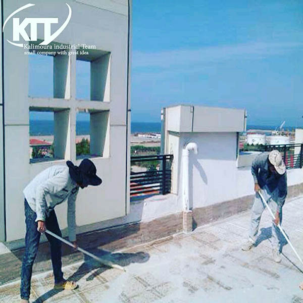 Sealing all types of roofs, terraces, floors and ceilings with Kalimura nano materials