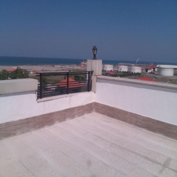 Perfect Roof Sealing Without Destroying Akam Fereydoun Building Along Mazandaran  With Kalimura Nano Materials